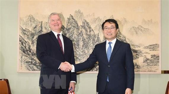 Hàn Quốc, Mỹ thảo luận vấn đề phi hạt nhân hóa bán đảo Triều Tiên