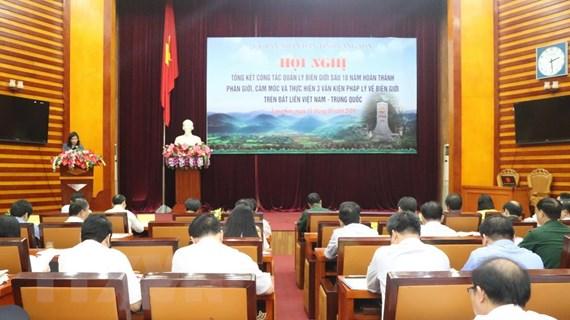 Lạng Sơn: Tổng kết 10 năm hoàn thành công tác phân giới Việt-Trung