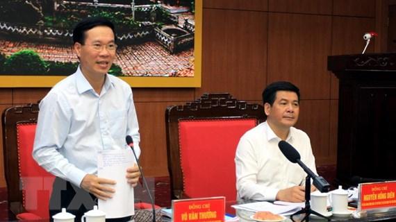 Ông Võ Văn Thưởng: Thái Bình cần chú trọng công tác đào tạo cán bộ