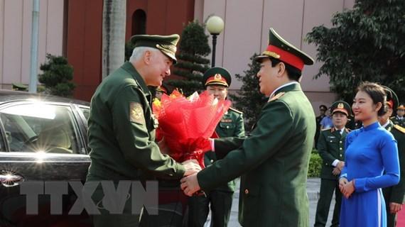 Thứ trưởng Quốc phòng Liên bang Nga Kartapolov thăm Việt Nam