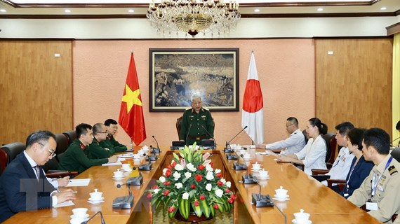 Thúc đẩy các hoạt động hợp tác quốc phòng giữa Việt Nam và Nhật Bản