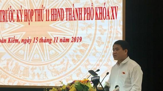 Chủ tịch Hà Nội: Không có lợi ích nhóm trong dự án nước sông Đuống