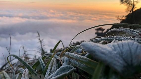 Vùng núi cao có băng giá, nhiệt độ thấp nhất ở Hà Nội là 9 độ C