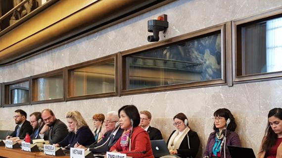 Việt Nam tham dự Hội nghị giải trừ quân bị năm 2020 tại Geneva