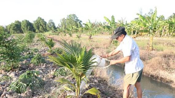Nguồn nước tiếp tục thiếu hụt, xâm nhập mặn ngày càng sâu