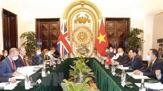 Tuyên bố chung về quan hệ Đối tác chiến lược Việt Nam-Vương quốc Anh