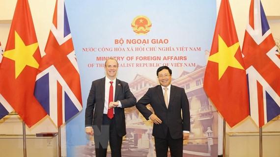 Anh muốn thúc đẩy quan hệ Đối tác chiến lược hiệu quả với Việt Nam