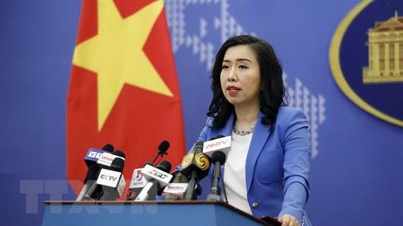'Lập trường của Việt Nam về vấn đề Biển Đông là nhất quán'