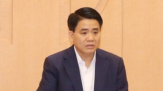 Đề nghị xem xét khai trừ ông Nguyễn Đức Chung ra khỏi Đảng
