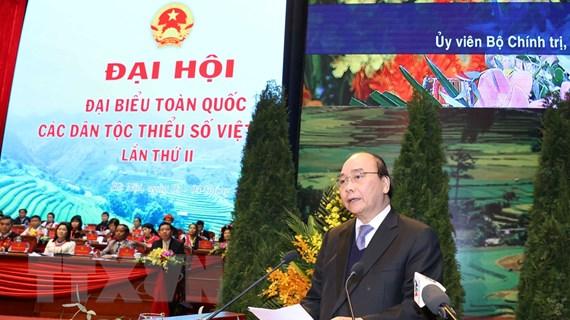 Toàn văn phát biểu của Thủ tướng tại Đại hội các dân tộc thiểu số