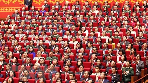 Ngày làm việc thứ hai của Đại hội XIII: Thảo luận Văn kiện đại hội