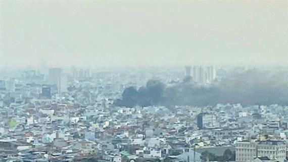 Thủ tướng chỉ đạo khắc phục hậu quả vụ cháy tại Thành phố Hồ Chí Minh