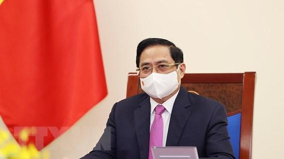 Thủ tướng Chính phủ Phạm Minh Chính điện đàm với Thủ tướng Thái Lan