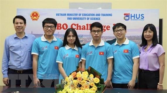Học sinh Việt Nam đạt thành tích xuất sắc tại Olympic Sinh học quốc tế