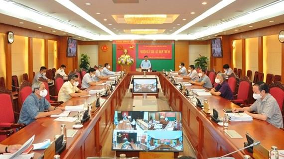 Thi hành kỷ luật cảnh cáo Đảng ủy Cơ quan Sở Kế hoạch và Đầu tư Hà Nội