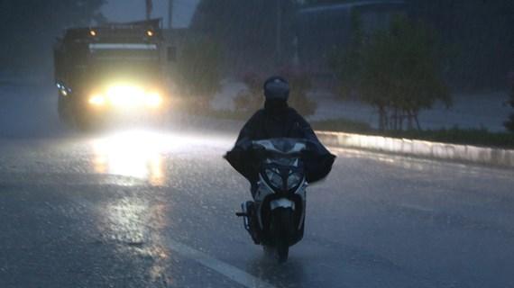 Một số tỉnh ở khu vực Bắc Bộ mưa rất to, có nơi trên 200mm