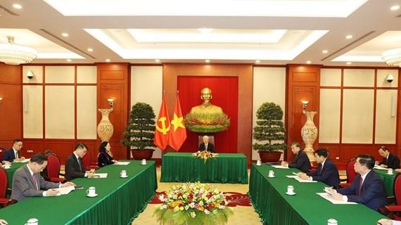 Việt Nam-Trung Quốc dành ưu tiên cao cho hợp tác phòng, chống COVID-19