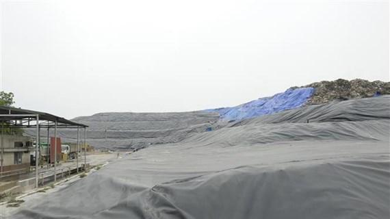 Hà Nội: Bãi rác Xuân Sơn tiếp nhận rác trở lại sau thời gian tạm dừng