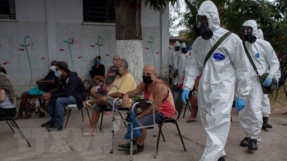 Tình hình dịch ngày 27/5: Thế giới ghi nhận hơn 5,7 triệu ca nhiễm