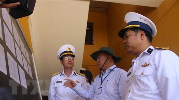 Bầu cử QH và HĐND: Huyện đảo Trường Sa hướng tới ngày hội non sông
