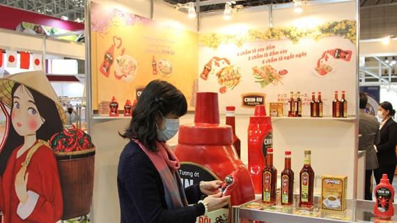 Quảng bá nông sản, thực phẩm Việt Nam tại triển lãm quốc tế ở Nhật Bản
