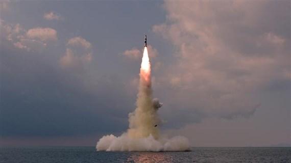 Triều Tiên: Vụ phóng tên lửa từ tàu ngầm không nhằm vào Mỹ
