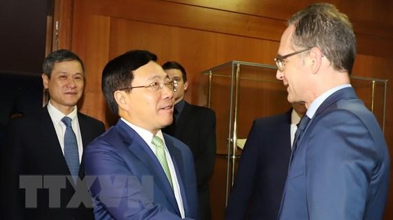 Việt Nam và Đức khẳng định tăng cường hợp tác trên nhiều lĩnh vực