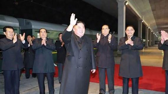 KCNA: Nhà lãnh đạo Triều Tiên Kim Jong-un lên đường thăm Nga