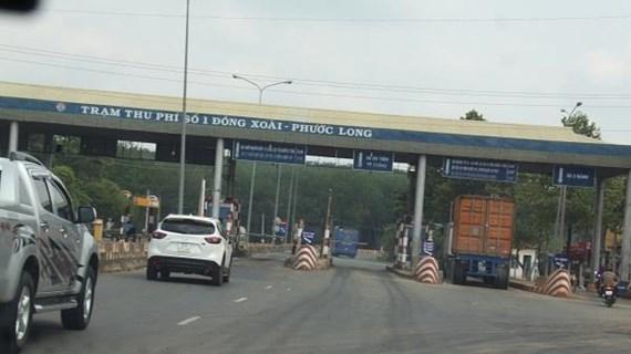 Trạm BOT Đồng Xoài-Phước Long đã trở lại hoạt động bình thường