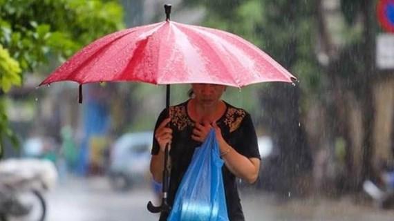Bắc Bộ và Bắc Trung Bộ có mưa dông, đề phòng sạt lở đất vùng núi