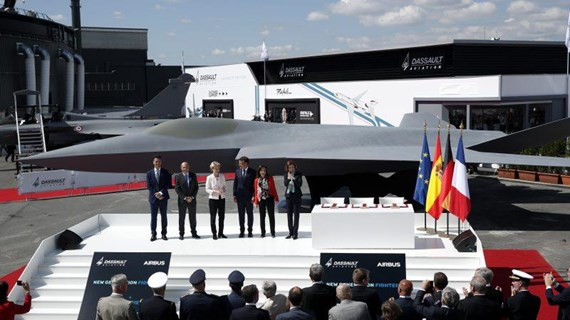 Ba nước châu Âu hợp tác phát triển khí tài nhằm giảm phụ thuộc vào Mỹ
