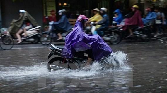 Đêm 18/6, cả nước đều có mưa dông, khả năng xảy ra mưa đá
