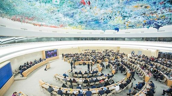 Đoàn Việt Nam dự khai mạc Khóa họp thường kỳ Hội đồng Nhân quyền