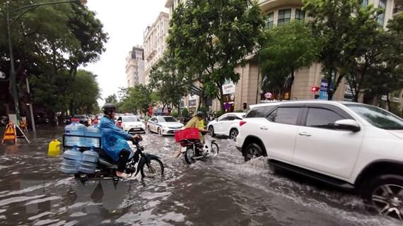 Đợt mưa lớn ở các tỉnh miền Bắc còn kéo dài đến ngày 23/8