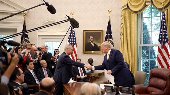 Tổng thống Trump thông báo Trung Quốc bắt đầu mua nông sản của Mỹ