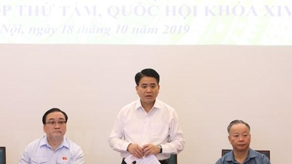 Cử tri Hà Nội đặc biệt quan tâm đến vấn đề lớn về ô nhiễm môi trường