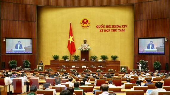 Quốc hội thảo luận báo cáo nghiên cứu khả thi dự án sân bay Long Thành