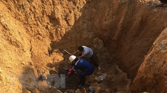 Hà Nội chỉ đạo làm rõ vụ chôn lấp trái phép chất thải ở Sóc Sơn