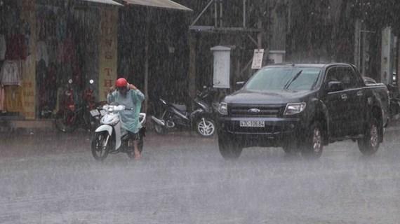 Thời tiết ngày 28/5: Vùng núi và trung du Bắc Bộ có mưa vừa, mưa to