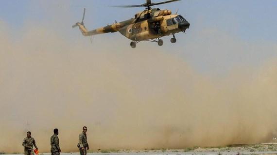 Rơi trực thăng quân sự tại Afghanistan khiến 7 binh sỹ thiệt mạng