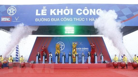 Hà Nội khởi công Đường đua công thức 1 gồm 22 góc cua kinh điển
