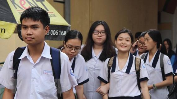 Thành phố Hồ Chí Minh: Thiếu mã đề bài ở 3 điểm có thí sinh tự do