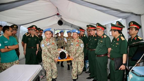 Việt Nam nỗ lực xây bệnh viện không rác thải nhựa tại phái bộ LHQ