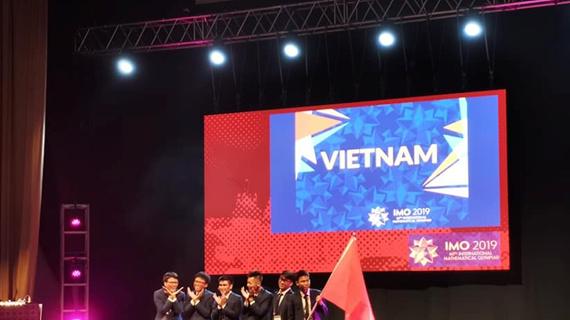 Đoàn Việt Nam giành 6 huy chương tại Olympic Toán quốc tế 2019