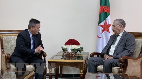 Algeria mong muốn tăng cường quan hệ hợp tác với Việt Nam