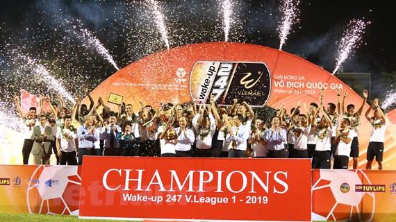 V-League 2019 hạ màn: Hà Nội FC vô địch, Khánh Hòa xuống hạng