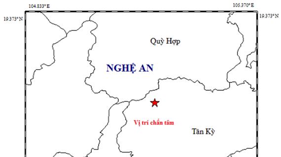 Nghệ An: Xuất hiện động đất có độ lớn 4,2, dư chấn kéo dài