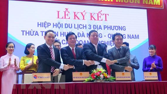 Ba tỉnh, thành phố miền Trung liên kết phục hồi, phát triển du lịch