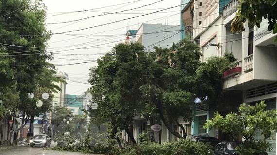 Bão số 9 giật cấp 16 trên vùng biển ngoài khơi từ Đà Nẵng đến Phú Yên