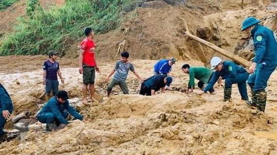 Quảng Nam: Đã tìm thấy 5 thi thể trong vụ sạt lở tại Phước Sơn